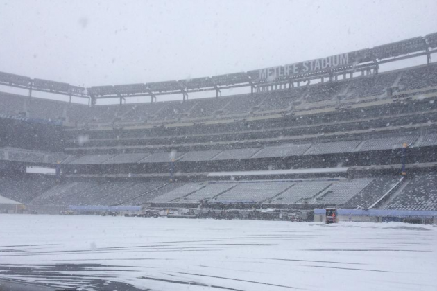 MetLife Stadium Facing Snowy Weather with Super Bowl Less Than 2 Weeks Away