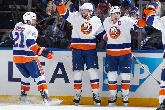 New York Islanders' Top Line Lives Up to Its Potential in Win vs. Rangers