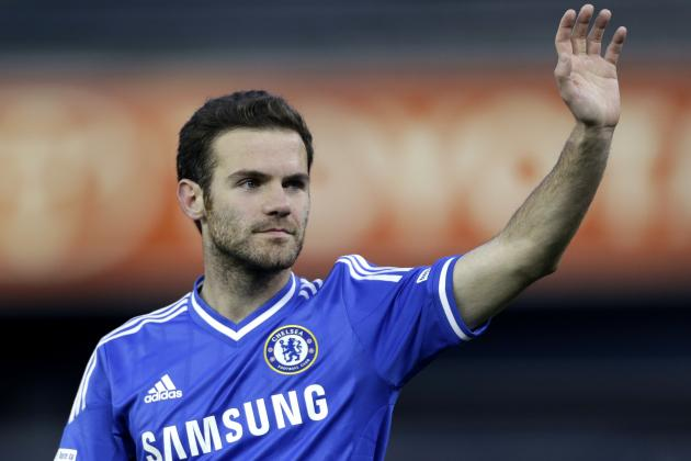 Manchester United Transfer News: Chelsea 'Happy' to Let Juan Mata Leave
