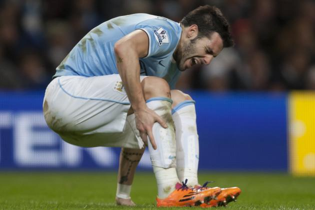 Alvaro Negredo Injury: Updates on Manchester City Star's Shoulder and Return