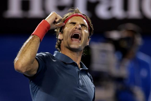 Australian Open 2014: Roger Federer Beats Andy Murray in Quarterfinal