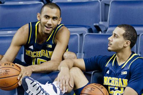 Jon Horford, Jordan Morgan Come to the Rescue for Michigan