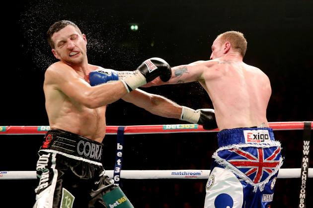 Eddie Hearn Talks Carl Froch, George Groves, Andre Ward, Chavez Jr. and More