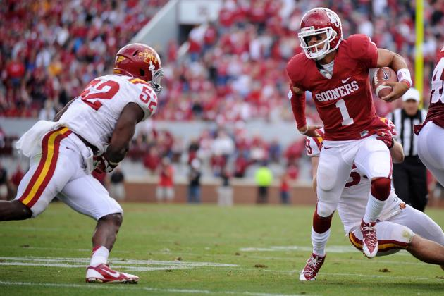 QB Kendal Thompson Tweets He Will Transfer from Oklahoma Sooners