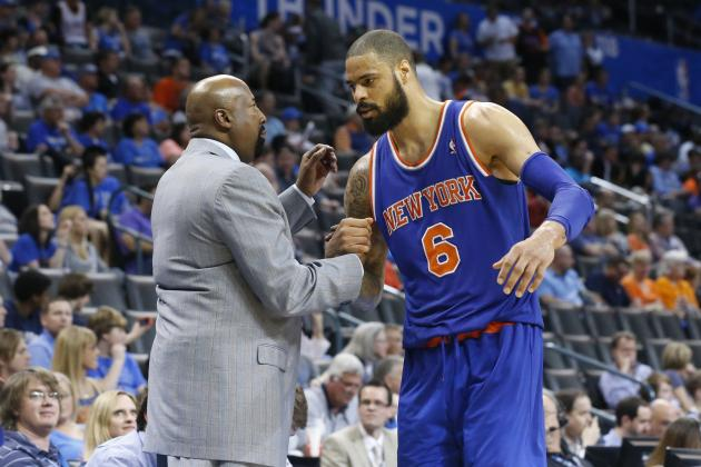 Mike Woodson Reportedly Confronted Tyson Chandler over Comments About Defense