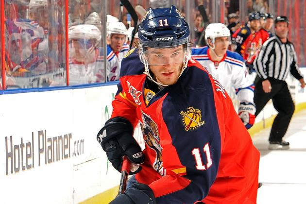 Florida Panthers Rebuild Starting to Take Shape