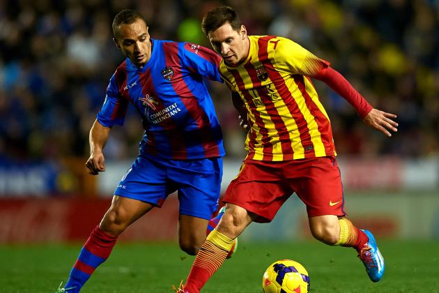 Levante vs. Barcelona: Live Player Ratings
