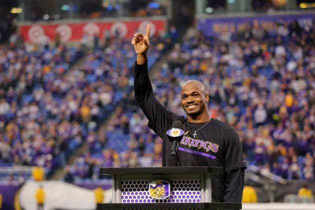 Adrian Peterson Is Star NFL Players Would Most Love to See in Super Bowl