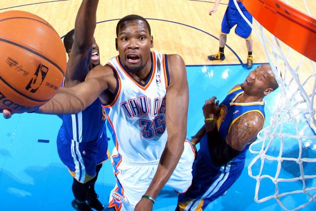 How Kevin Durant's Scoring Binge Stacks Up Against Best in Modern NBA History