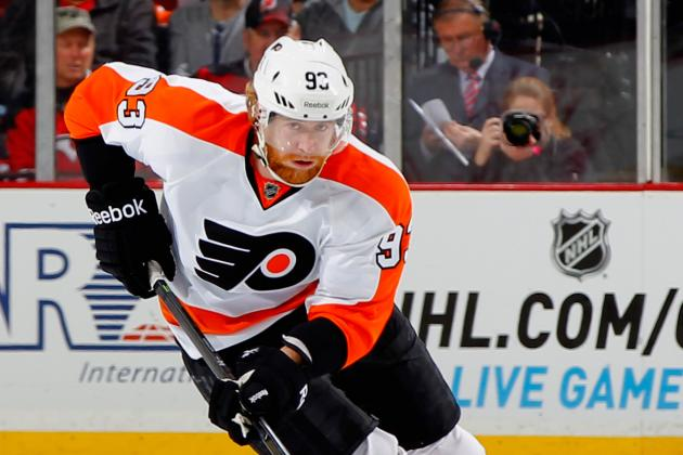 Jakub Voracek Will Play Tonight vs. Hurricanes