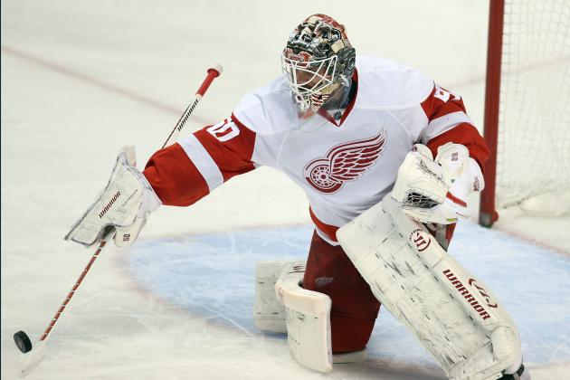 Detroit Red Wings Turn to Jonas Gustavsson in Net Against Chicago Blackhawks