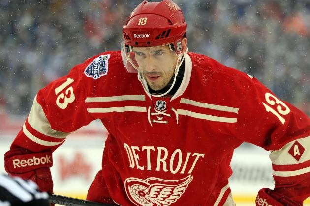 Datsyuk Making Progress; Not Sure When He'll Return