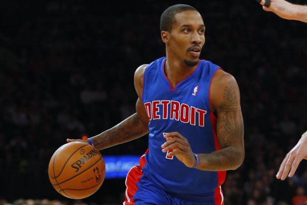 Pistons' Brandon Jennings Attributes Slump to 'Thinking Too Much'
