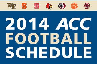ACC Unveils 2014 Schedule
