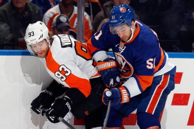 Report: Flyers' Voracek Ready to Face Hurricanes