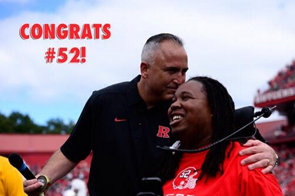 Eric LeGrand Finishes Rutgers Degree