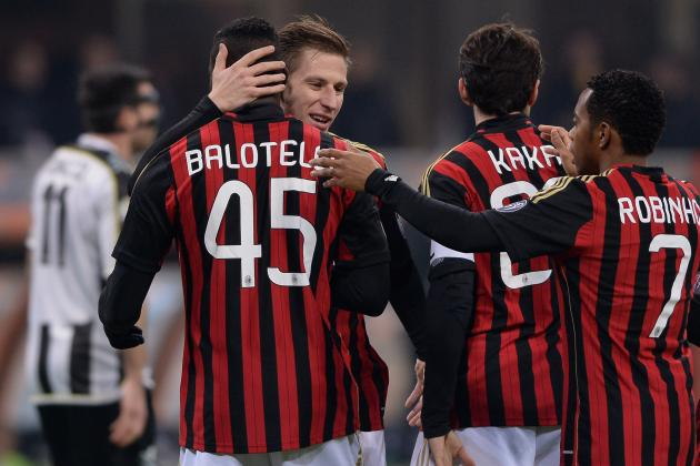 GIF: Mario Balotelli Scores for Milan vs. Udinese, Kaka with the Assist