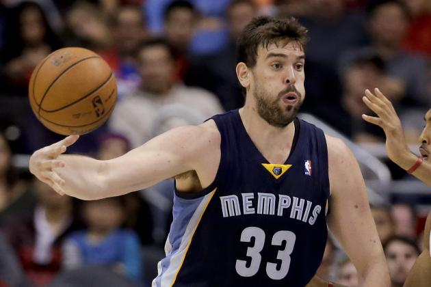 Breaking Down How Marc Gasol's Return Impacts Memphis Grizzlies' Attack