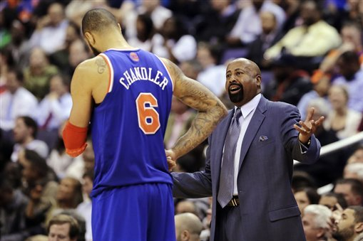 What Tyson Chandler Knows That Mike Woodson Doesn't
