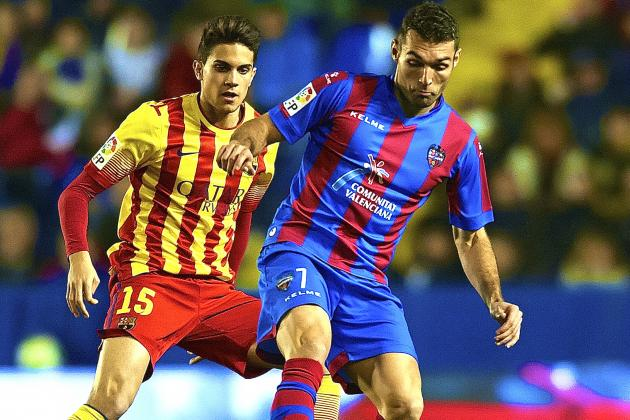 Levante vs. Barcelona: Copa del Rey Live Score, Highlights, Report