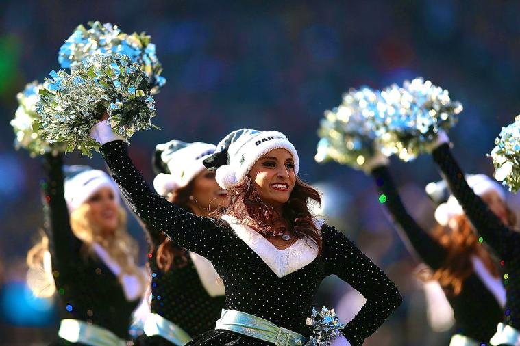 Raiders Cheerleaders Suing Team for Allegedly Being Paid $5 an Hour