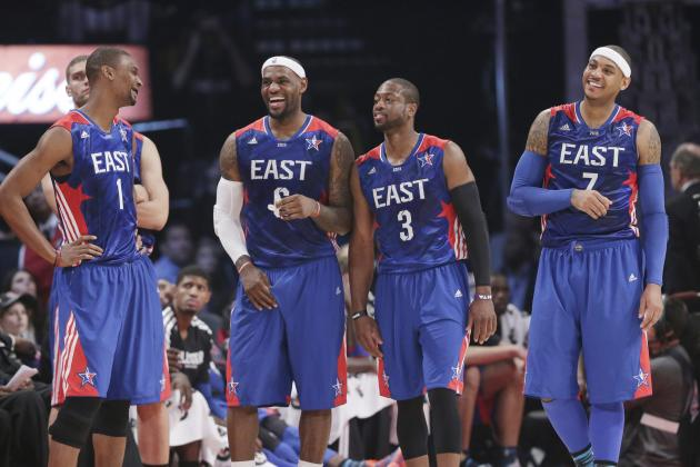 NBA All-Star Game 2014: Projecting Ideal Starting Lineups for East and West