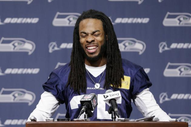 Richard Sherman Talks Controversial Interview in Exclusive with Rachel Nichols