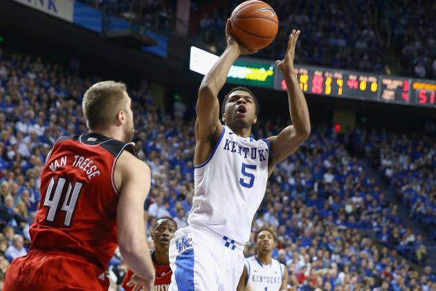 Kentucky Basketball: How Andrew Harrison Is Finding His Niche in 'Cats' Offense
