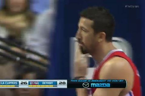 Clippers' Hedo Turkoglu Can't Stop Licking His Hands