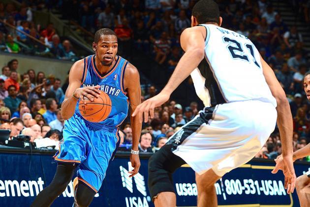 Oklahoma City Thunder vs. San Antonio Spurs: Live Score and Analysis