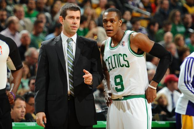 How Rajon Rondo and Brad Stevens Are Getting Along So Far