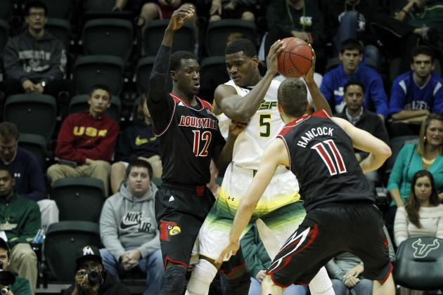 Blackshear Leads No. 12 Louisville Over USF, 86-47
