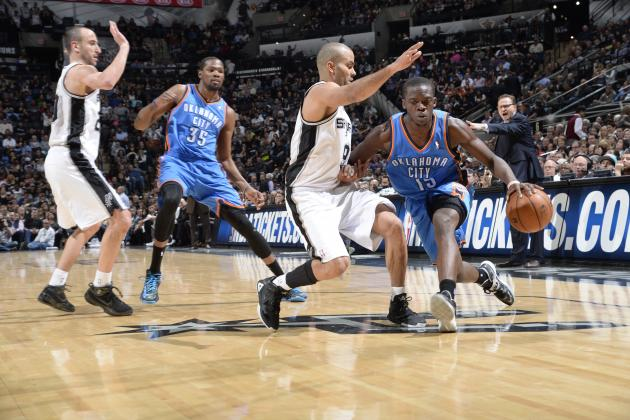 Oklahoma City Thunder vs. San Antonio Spurs: Live Score and Analysis