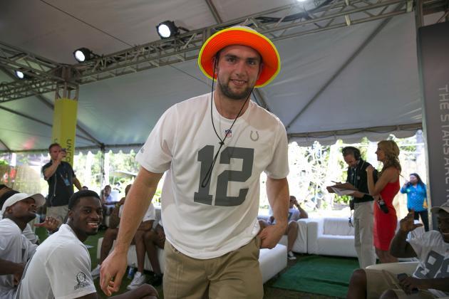 Pro Bowl Draft 2014 Results: Team Rice vs. Team Sanders Fantasy Rosters Revealed