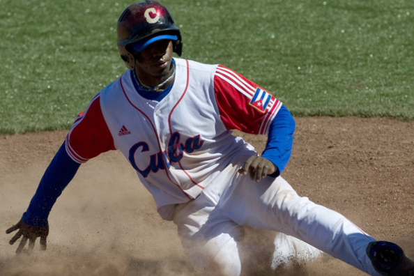 Rusney Castillo Private Workout Attended by Dodgers