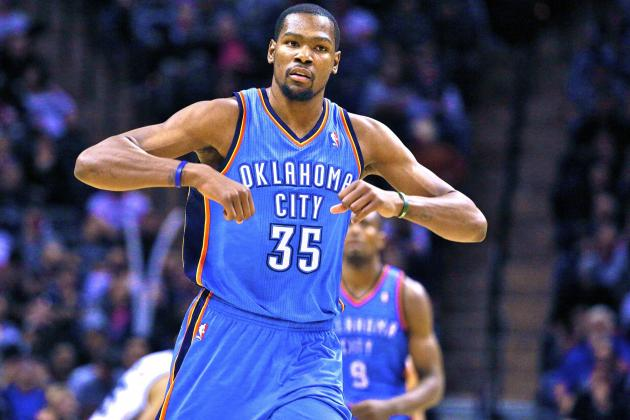 With Russell Westbrook Out, Kevin Durant Has Made Thunder Conference Favorites