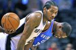 Spurs' Leonard Suffers Hand Fracture vs. Thunder