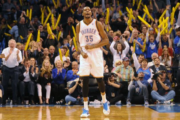 Kevin Durant Is Oklahoma City Thunder's and NBA's MVP