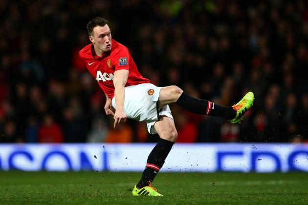 Phil Jones' Terrible Penalty Flew over Bar and Hit a Fan Flush in the Face