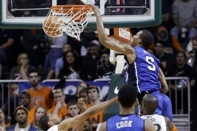 Duke vs. Miami Basketball: Biggest Takeaways from Blue Devils' Win at Hurricanes