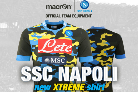 Napoli Launch New Camouflage Shirt