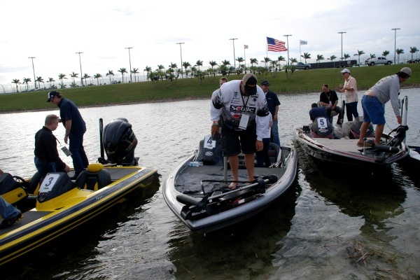 FYI WIRZ: NASCAR Drivers Skip Speed to Fish Twice a Year for Disabled Kids