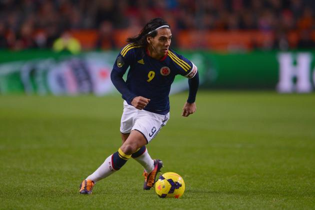 Radamel Falcao's Knee Injury Will Quell Colombia's 2014 World Cup Title Hopes