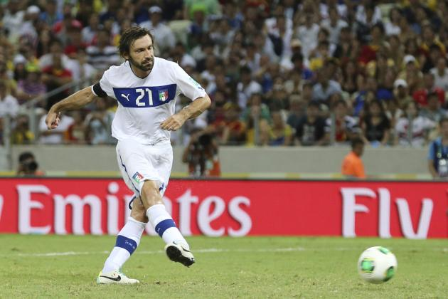 Tighe's 2014 World Cup Tactics Board: Analysing Cesare Prandelli's Italy