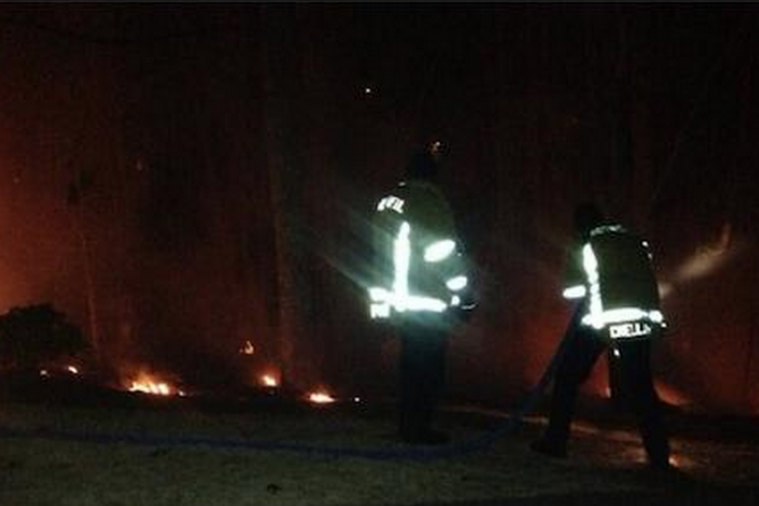 Chipper Jones Accidentally Set Woods Ablaze Near His House