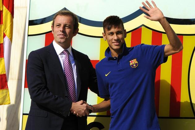 Sandro Rosell Resigns as Barcelona President After Neymar Scandal