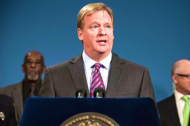Roger Goodell Says NFL Would Consider Allowing Medical Marijuana for Concussions