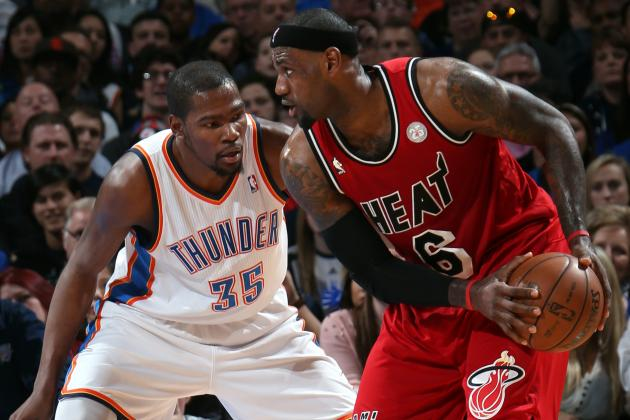 Debate: Will LeBron James or Kevin Durant Be MVP This Season?