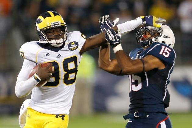 Michigan Football: Why Devin Gardner Needs to Move Back to Wide Receiver