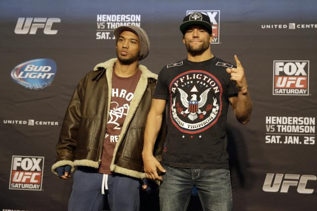 UFC on Fox 10: Weigh-in Results and Updates